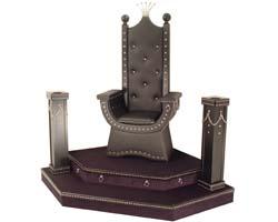 Как сделать трон для кощея своими руками 3